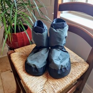 Bloch Lina & Max Gray Warm Up Booties Size Small